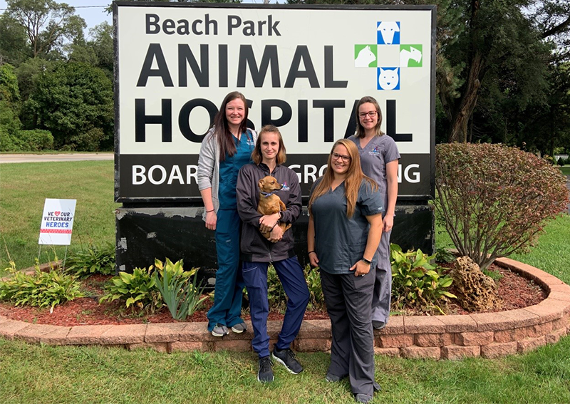 Veterinary Technicians, Beach Park